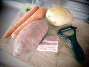 ingrédients-purée-patate-douce