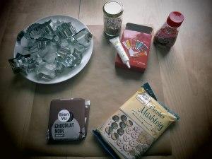 sablés-ingrédients