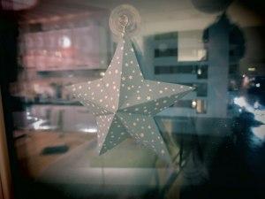 Origami-,-étoile-suspendue