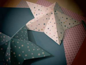 Origami-,-étoiles