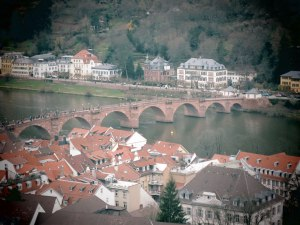Heidelberg-,-vue-du-pont