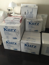 Le cargo est arrivé ! ( 17 cartons ... )