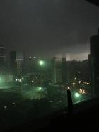 L'orage arrive ...