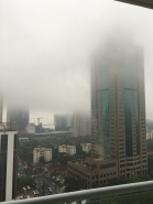 Les nuages sont bas ...