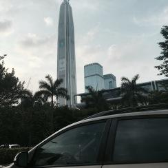 La plus haute tour de Shenzhen ( encore en travaux )