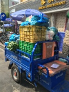 Livraison des légumes pour le Resto