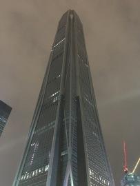 La plus grande tour de Shenzhen , bientôt terminée .