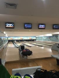 On a même fait un bowling , seuls !