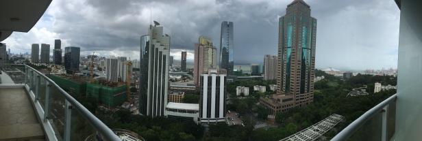 La pluie arrive ...🌧