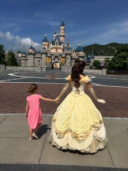 La Belle est venue chercher notre Princesse