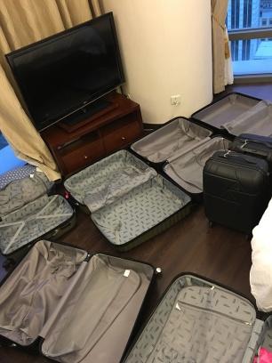 Les valises sont de sortie !