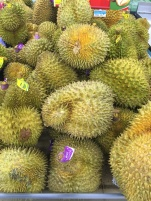 Le Durian ( fruit qui sent fort ...)