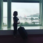 Arrivée à l'aéroport d' Haneda