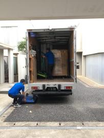 L'arrivée du cargo