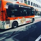 Le bus du quartier