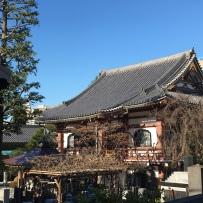 Un temple vers Harajuku