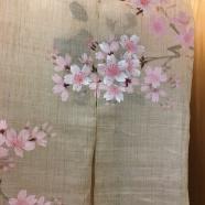 Des tentures japonaises , kakémono