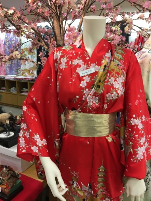 Un beau kimono fleuri
