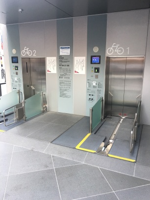 Un parking à vélo souterrain