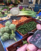 un tour au marché de La Croix-rousse