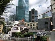 Ici un aperçu de la densité de la ville ...
