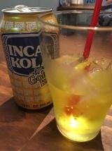 Chez Mi Choripan , le Coca Inca Kola est jaune ...