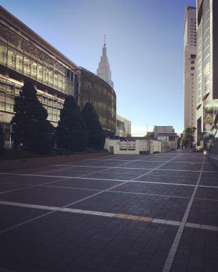 Shinjuku calme