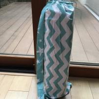 ceci est un sac à tapis de yoga ...