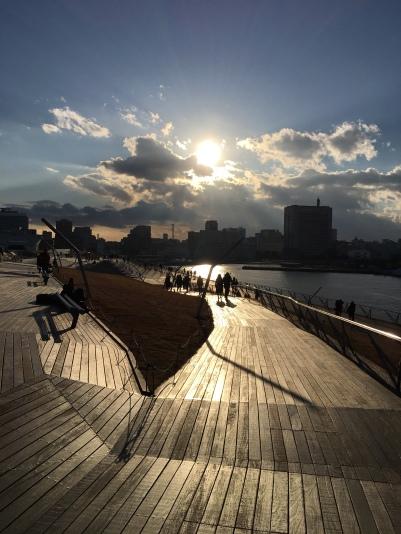 Yokohama , le port