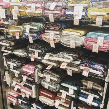 marché aux tissus de Nippori