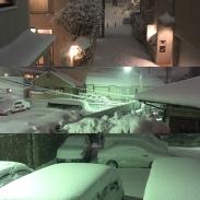 La neige !