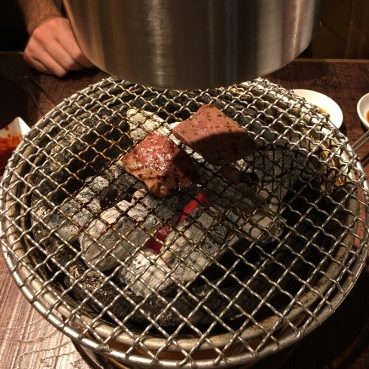 le barbecue coréen ...