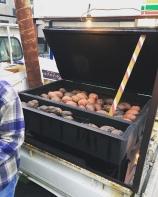 Les patates douces du marchand ambulant