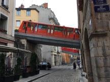 Le funiculaire , vieux Lyon