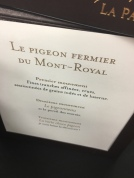 J'ai mangé du Pigeon ... au caviar ...