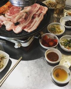 on a mangé coréen