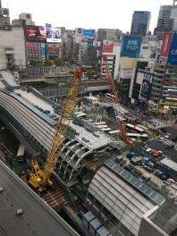 Shibuya en travaux
