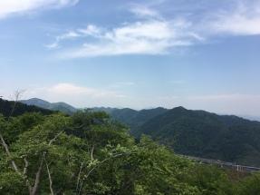 du haut du mont Takao