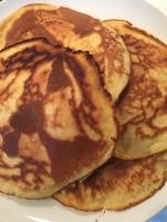 on a fait des pancakes