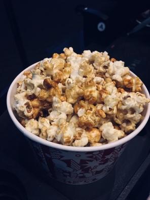 on est allées au cinéma ( 3 fois )