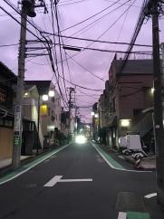 un soir le ciel était violet