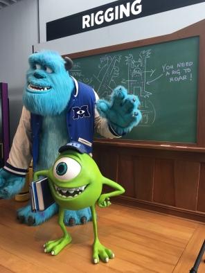 et des grosses bêtes ( expo Pixar)