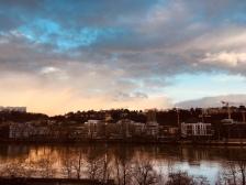 Lyon , la Saône