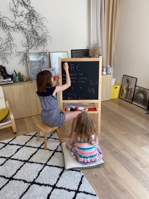 On a investi dans du matériel de pro ... ( merci Ikea )